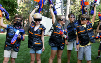 How to Run a NERF Party For Your Kids (Or Yourselves)